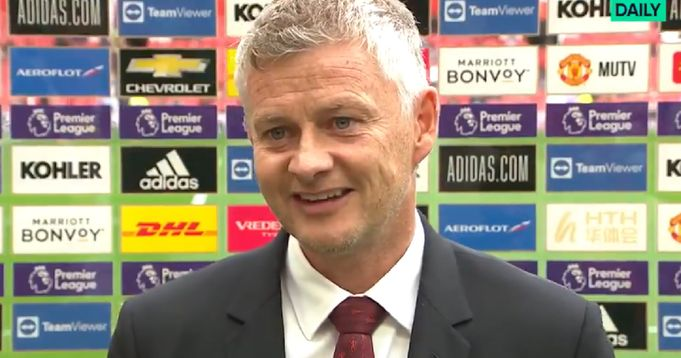 Solskjaer: Ronaldo is a special player for us' 'It feels like one of the old days.