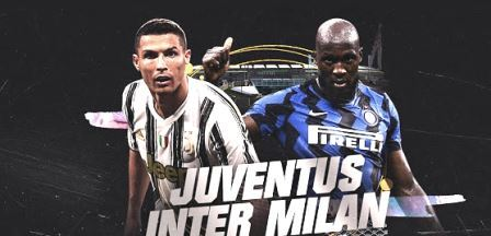 Inter Milan VS Juventus, Italian League 2021