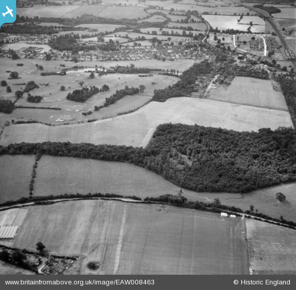 Photograph of Peplin's Wood and Brookmans Park Golf Course, Brookmans Park, 1947