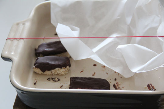 schokoladenriegel mit kokos I fräulein text