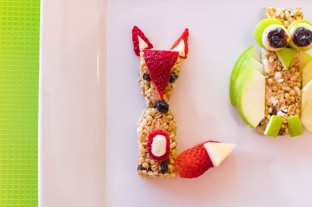 How to Make Animal Themed Snack Ideas With Quaker Chewy Bars