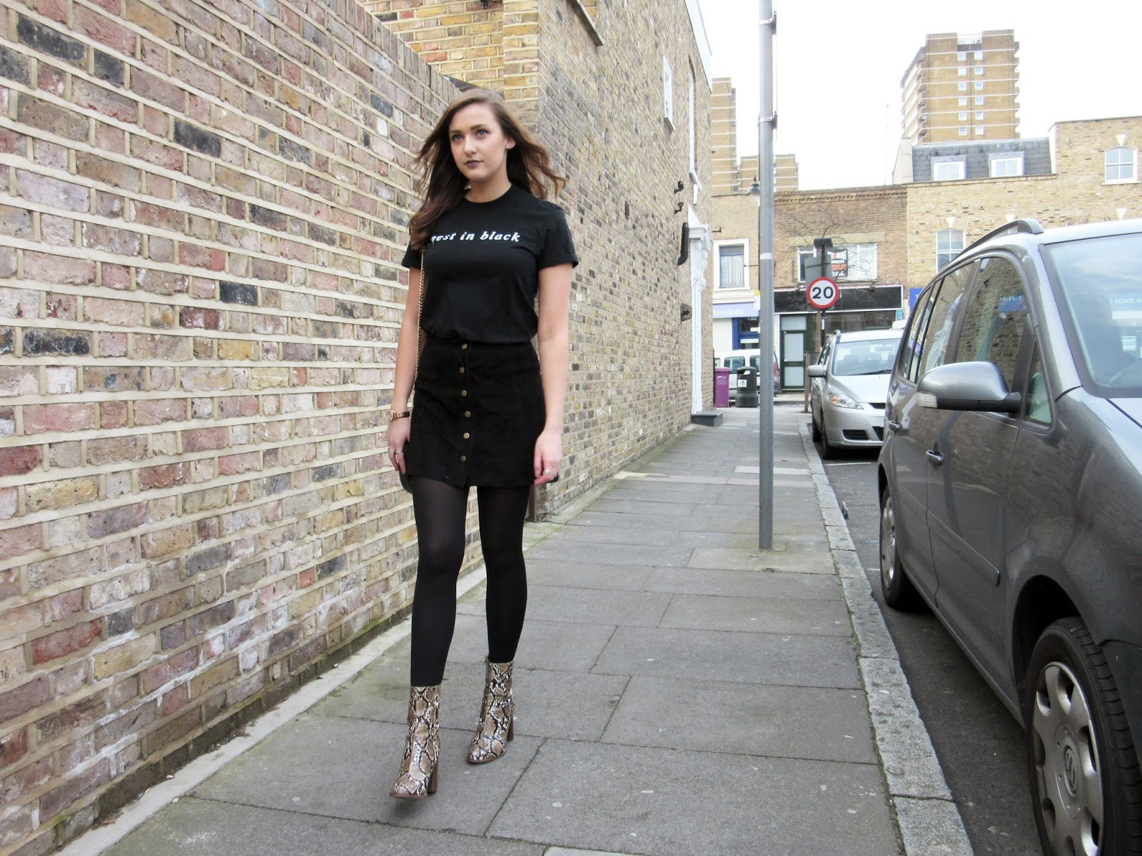 Best In Black // All in Black Fashion Outfit OOTD WIWT Street Style London Blogger  ft. ASOS, TOPSHOP & MANGO // Lauren Rose