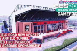 New Update Anfield Stadium + Exterior - PES 2017