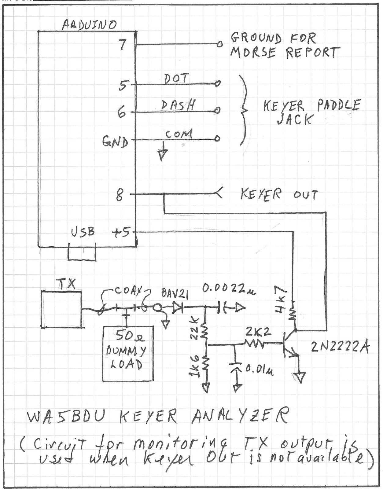 Antenna Analyzer Schematic
