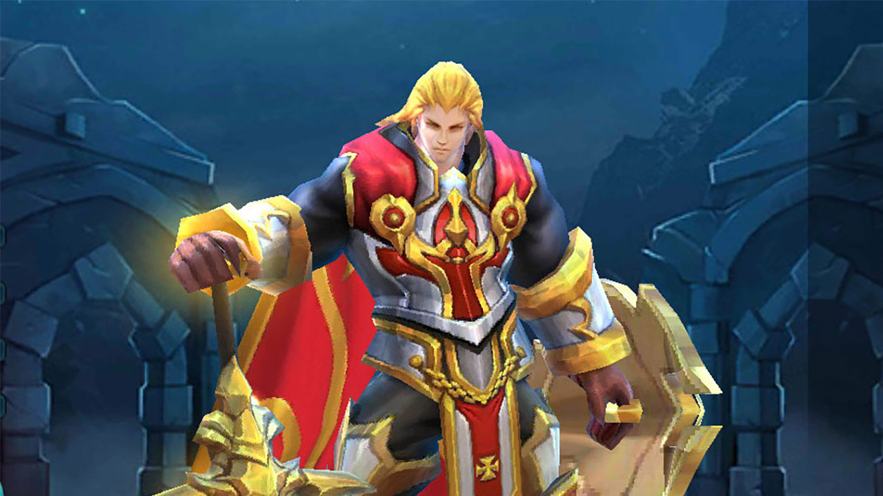 download gambar Tigreal mobile legend