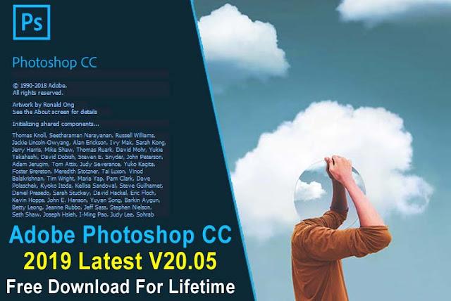 Adobe Photoshop CC 2019 V20.05