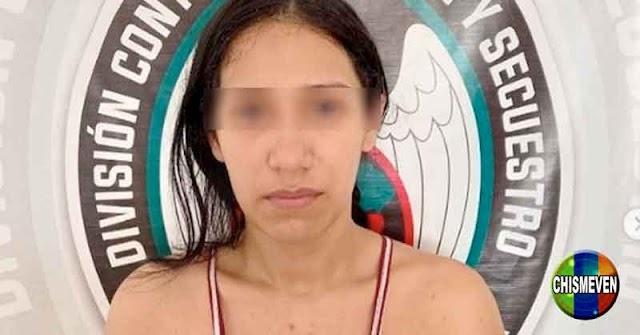 Mujer detenida en Barquisimeto por pertenecer a la banda de El Coqui