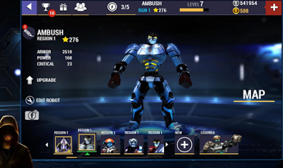 Real Steel Champions v1.0.76 Mod Apk (Unlimited Money + Gold)