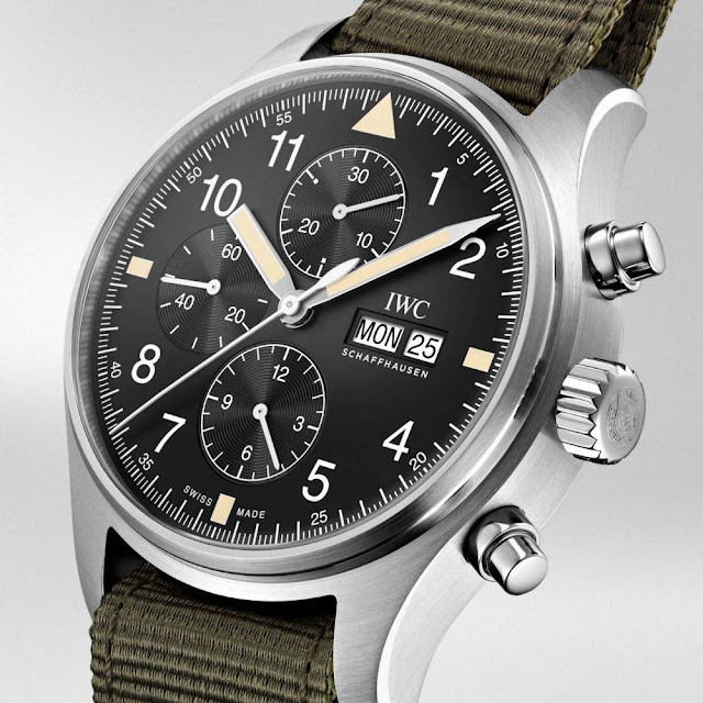 IWC Pilot's Watch Chronograph Online Boutique Edition IW377724
