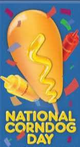 National Corn Dog Day Wishes Unique Image
