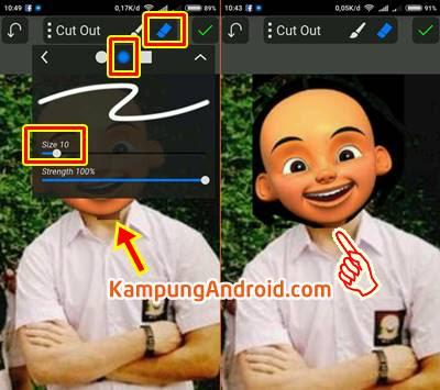 Edit Foto Wajah Upin Ipin