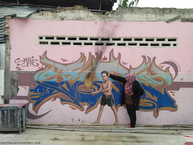 wisata mural kota
