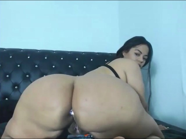 Big phat oiled ass