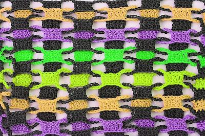 3 - CROCHET Imagen Punto entrelazado a crochet y ganchillo muy fácil y sencillo por MAJOVEL CROCHET