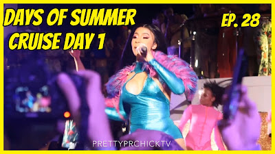 Brandi's Life Ep. 28: #Cardi B #DJKhaled #DaBaby Live Performances Days of Summer Cruise| PrettyPRChickTV