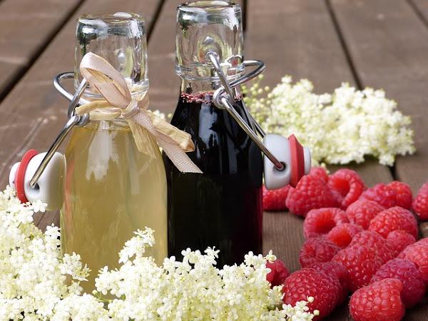 Suc de flori de soc - Socată cu acid: Rețetă tradițională