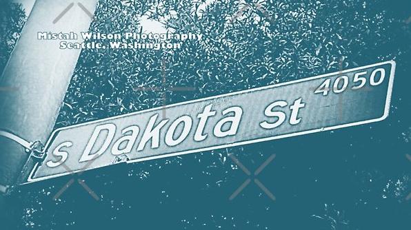 Dakota Street, Seattle, Washington by Mistah Wilson