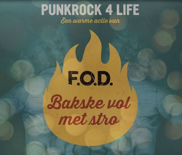 "F.O.D. stream new song ""Bakske Vol Met Stro"""