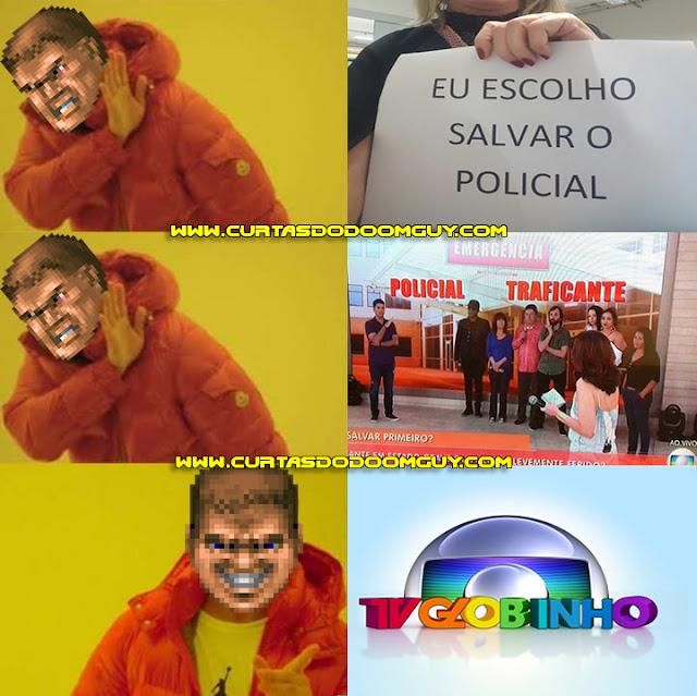 Bait de Fátima Bernardes x TV Globinho