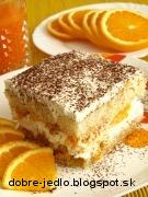 Pomarančové tiramisu - recept