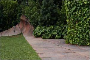A path in a garden