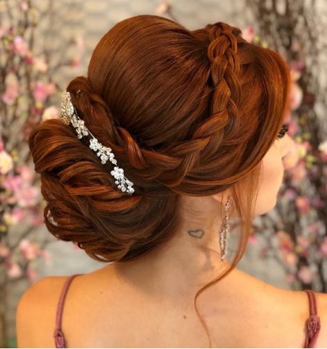 Bonito y cómodo como hacer peinados Colección De Cortes De Pelo Consejos - Aprende cómo hacer un lindo peinado recogido elegante para ...