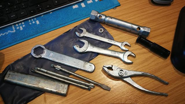 Honda CX500 Motorcycle Tool Kit