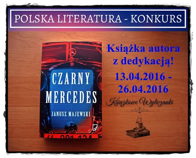 """KONKURS """"Czarny mercedes"""" Janusz Majewski, z dedykacją autora"""