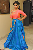 Nithya Shetty in Orange Choli at Kalamandir Foundation 7th anniversary Celebrations ~  Actress Galleries 082.JPG