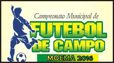 Resultado de imagem para campeonato municipal de moema  jornal fique sabendo 2016