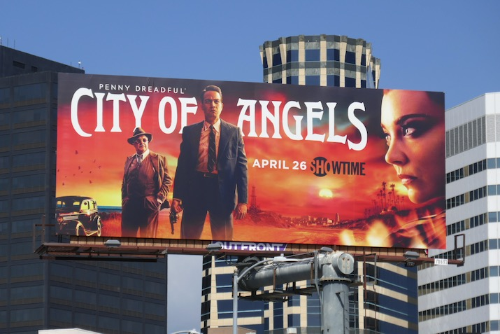 Penny Dreadful City of Angels series premiere billboard