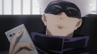 Hellominju.com : 呪術廻戦アニメ   五条悟   CV.中村悠一   Jujutsu Kaisen   Gojo Satoru   Hello Anime !