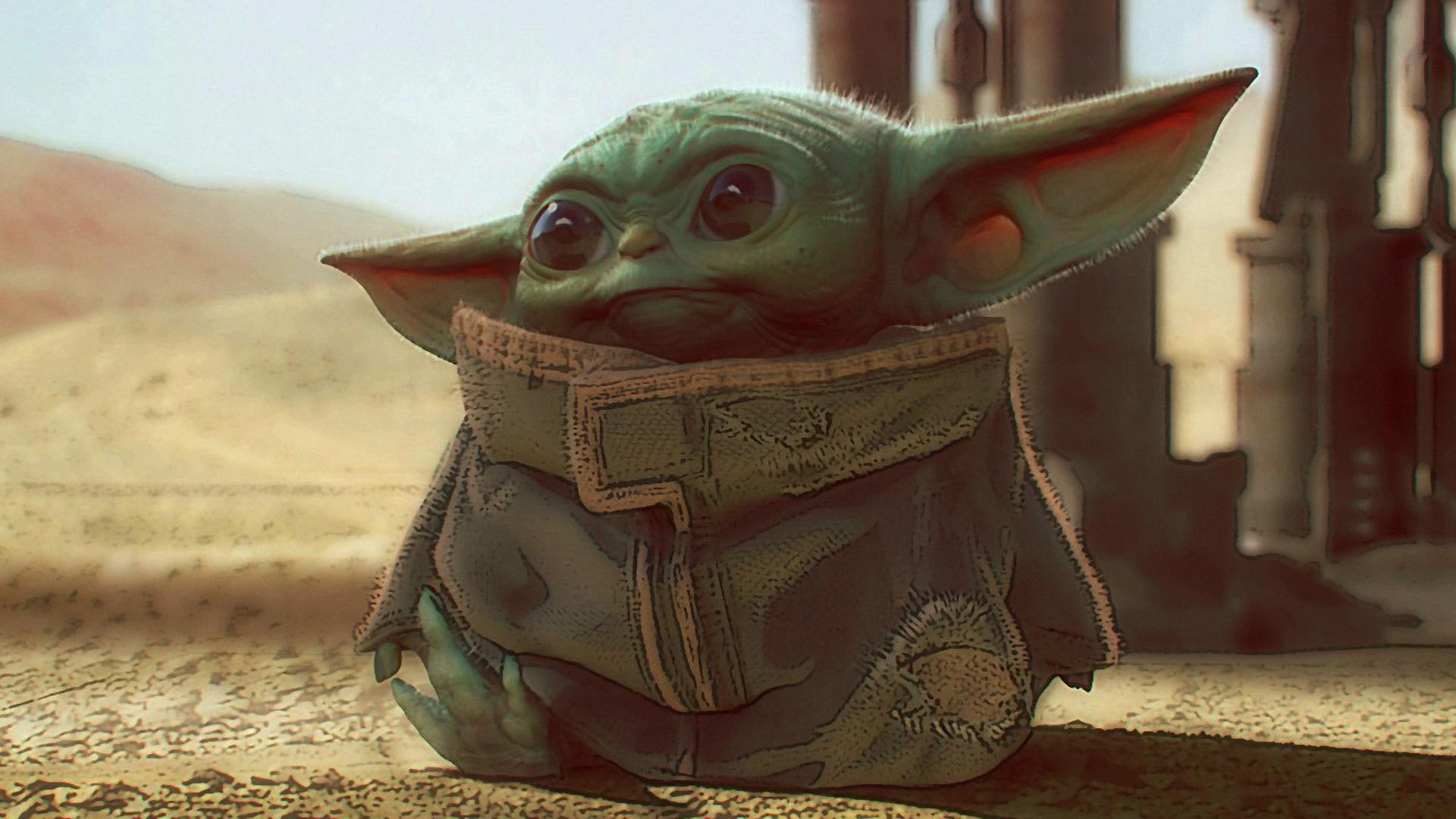 Baby Yoda Hd Wallpaper