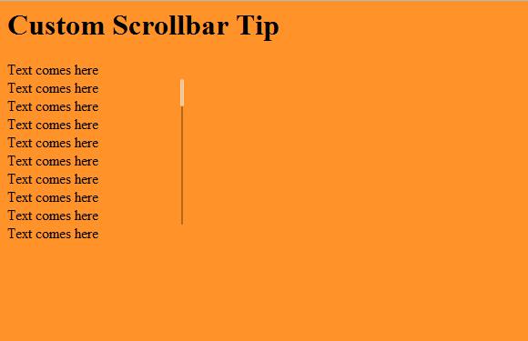 CSS - Adding Custom Toolbars | For Starters