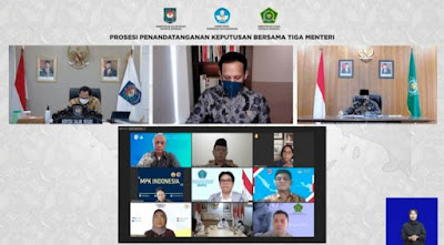 Buntut Panjang Seragam Sekolah, 3 Menteri Teken SKB