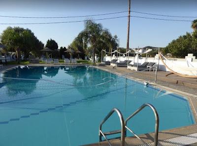 piscina hotel malibu Faliraki