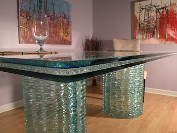 The Laminate Holds The Pieces In Place. Creating A Stunning Piece Of Glass  Art That You Can Display Anywhere In Your Home. Cracked Glass Is Available  In Two ...