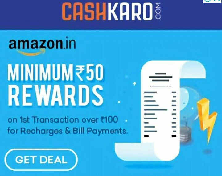 Get Rs100 cashback on Rs100 mobile recharge(100% cashback offer on amazon pay)