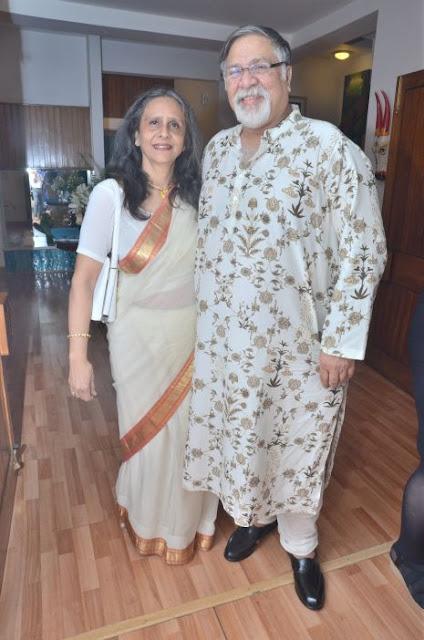 (L-R) Kangan Badhwar, Deepak Badhwar