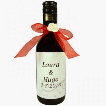 Botellas De Vino Para Regalar En Bautizos.Detalles De Invitados Bodas Bautizos Y Comuniones Botellas