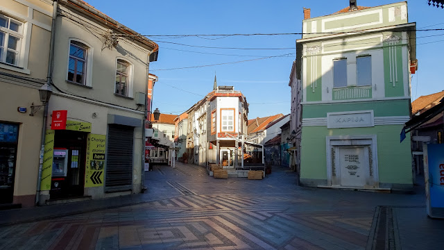 Old Town Center in Tuzla