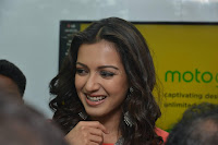 Catherine Tresa in Orange Kurti top and Plazzo at Launches B New MobileStore at Kurnool 10.08.2017 044.JPG