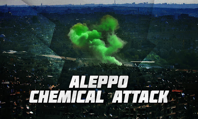 Syrian war report - 2018-11-26 Aleppo Chemical attack