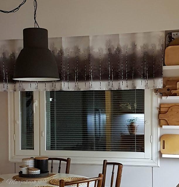 vallila koivikko kirppislöytö kierrätyskoti keittiö sisustus ton dejavu tuolit pyöreä pöytä