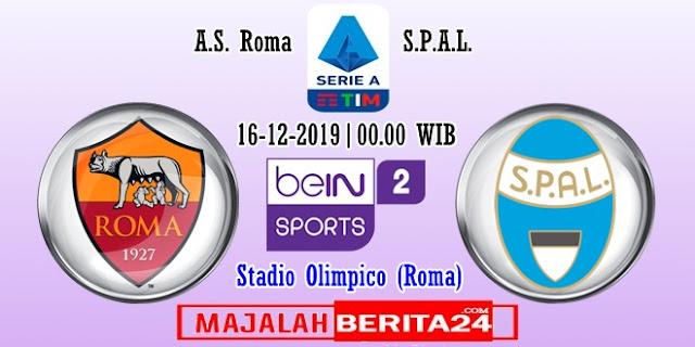 Prediksi AS Roma vs SPAL — 16 Desember 2019