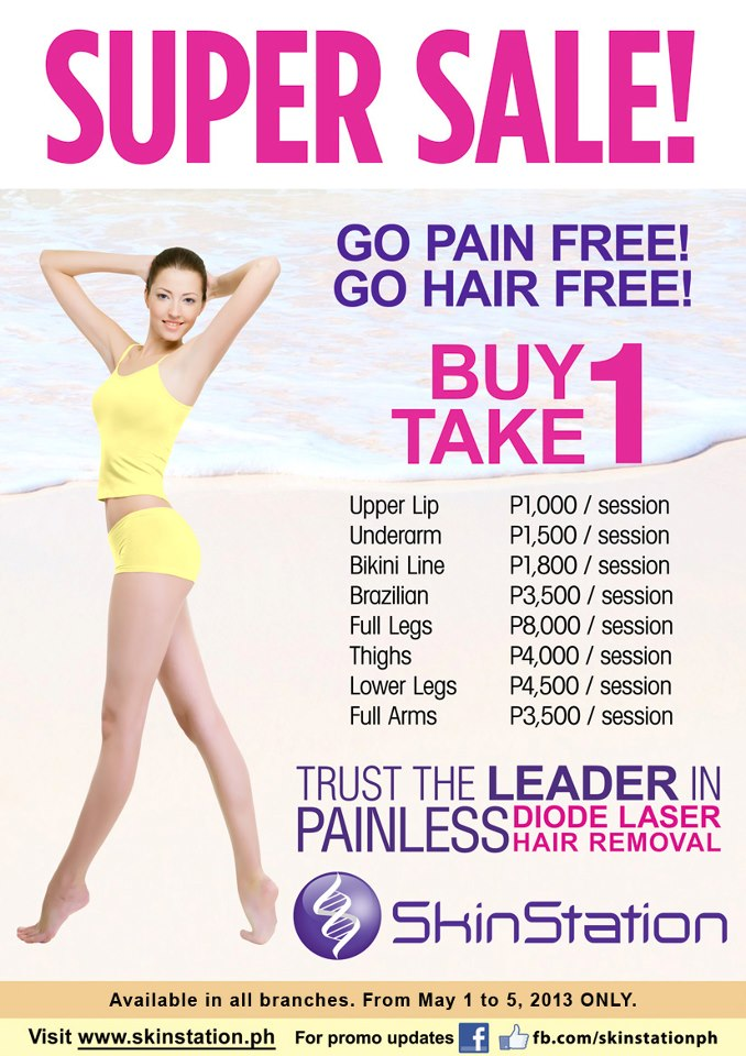 Manila Shopper Skin Station S Painless Diode Hair Removal Super