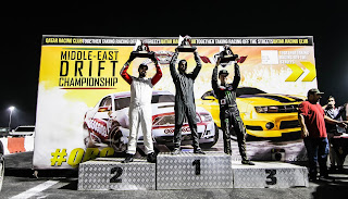 Middle East Drift Championship Winners Circle