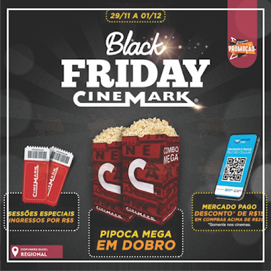 PROMOÇÃO - Black Friday Cinemark 2019