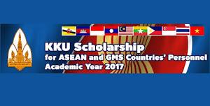 Beasiswa Master - Doktoral FULL di KKU Thailand