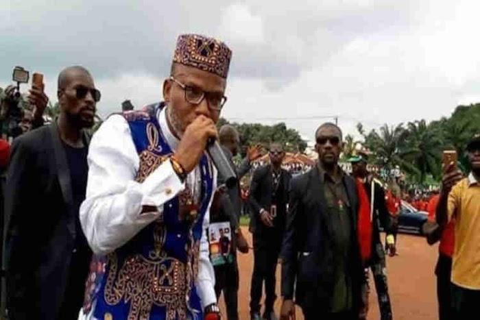 "Biafra: ""The prize for treachery is death"" - Nnamdi Kanu Warns Gov. Dave Umahi"